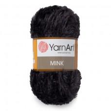 336 Пряжа YarnArt Mink черный