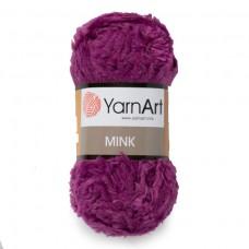 338 Пряжа YarnArt Mink фиолетовый