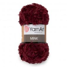 339 Пряжа YarnArt Mink бордовый