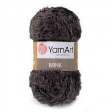 343 Пряжа YarnArt Mink серо-зеленый