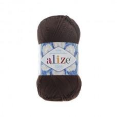 26 Пряжа Alize Miss коричневый