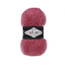 170 Пряжа Alize Mohair Classic New розовый леденец