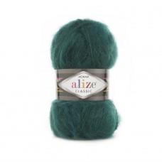 30 Пряжа Alize Mohair Classic New зеленый