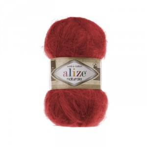 105 Пряжа Alize Naturale красный