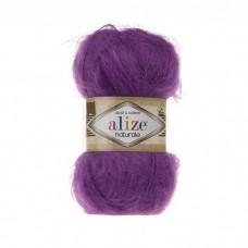 206 Пряжа Alize Naturale пурпурный