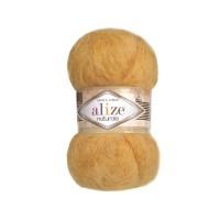 216 Пряжа Alize Naturale желтый