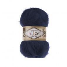 430 Пряжа Alize Naturale темно-синий