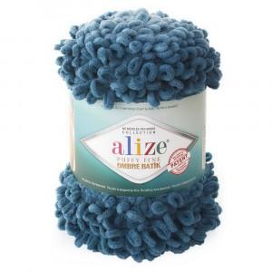 7263 Пряжа Alize Puffy Fine Ombre Batik