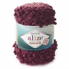 7276 Пряжа Alize Puffy Fine Ombre Batik