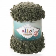 7299 Пряжа Alize Puffy Fine Ombre Batik