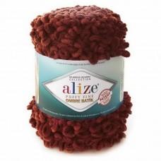 7300 Пряжа Alize Puffy Fine Ombre Batik