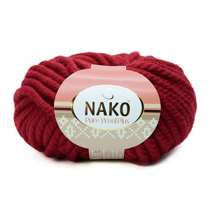 1175 Пряжа Nako Pure Wool Plus