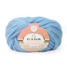 1579 Пряжа Nako Pure Wool Plus