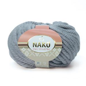 11478 Пряжа Nako Pure Wool Plus