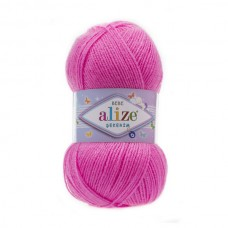 157 Пряжа Alize Sekerim Bebe ярко розовый