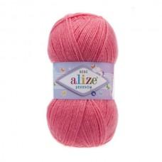 170 Пряжа Alize Sekerim Bebe розовый леденец