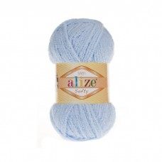 183 Пряжа Alize Softy светло-голубой