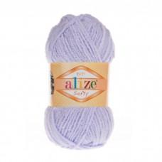 146 Пряжа Alize Softy сирень