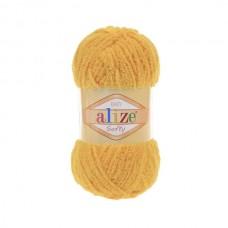216 Пряжа Alize Softy желтый