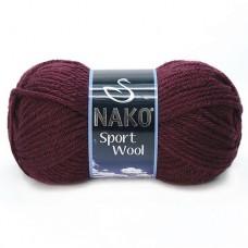 3718 Пряжа Nako Sport Wool