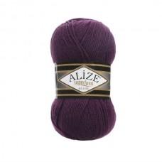 111 Пряжа Alize Superlana Klasik фиолетовый