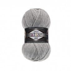 208 Пряжа Alize Superlana Midi светло-серый меланж