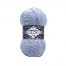 480 Пряжа Alize Superlana Midi светло-голубой