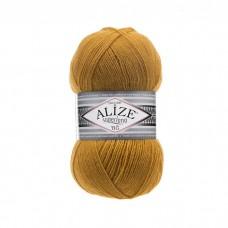 2 Пряжа Alize Superlana Tig темно-желтый