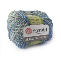 614 Пряжа YarnArt Jeans Tropical
