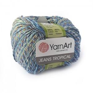 614 Пряжа YarnArt Jeans Tropical